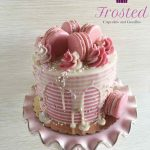 Image: gorgeously decorated cake from Frosted Cupcakes and Goodies
