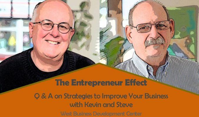 Image: Kevin Williams and Steve Lamb - The Entrepreneur Effect workshop