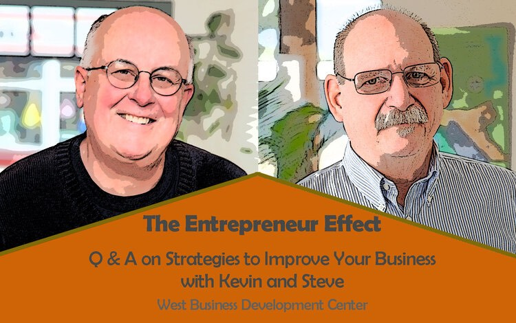 Image: Kevin Williams and Steve Lamb - The Entrepreneur Effect workshop